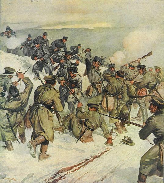наступоение русской армии в галиции снова